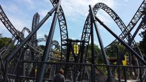The Smiler (photo pinched from my sister's Facebook - thank you!)
