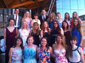 About half of the German Class of 2014!