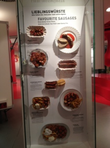 The Currywurst museum in Berlin. I'm getting hungry now.