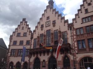 Das Frankfurter Rathaus.