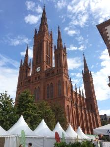 Wiesbaden - die Marktkirche.