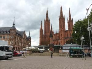 The Marktkirche is pretty impressive!