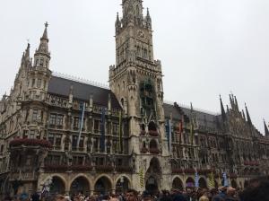 The Rathaus in Munich.
