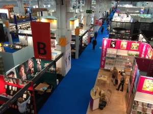 Inside the Buchmesse.