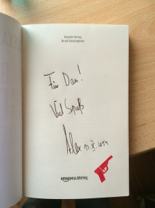 My special signed book ;)