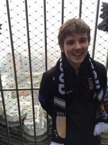 533 steps later at the top of the Cathedral.