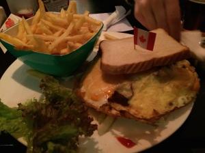 """""""Chong's"""" in Nuremberg, an American diner."""
