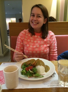 Being crazy and going of the vegetarian Katsu (still so good!)