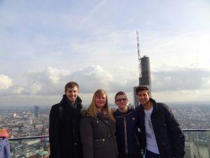 Me, Simone, David and Andi.