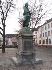 Schiller in Mainz.
