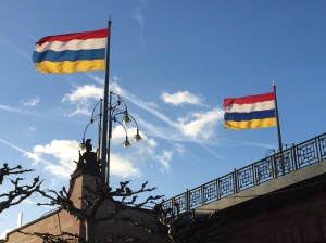 We think those flags are for Fasching!