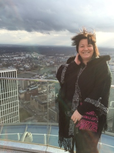 01/03 - My mum braved it up the tower!