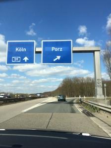 Next stop, Porz!