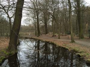 The park in Troisdorf.