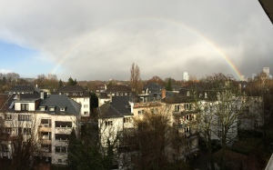 01/04 - Rainbow all the way across the sky!
