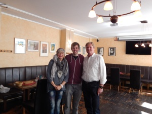 14/04 - Meeting Joachim and Marith again after 16 long years!