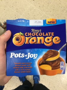 25/05 - Might as well eat a Chocolate Orange.