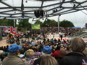 21/06 - The ZDF Fernsehgarten in Mainz, with GB as the theme!