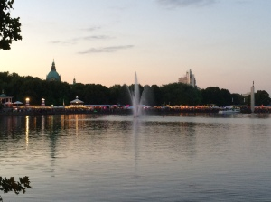 31/07 - The Maschseefest at dusk.