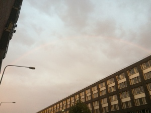 14/08 - Left the flat to find a rainbow...