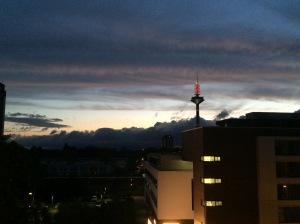 24/08 - A very eerie sky.