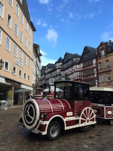 05/09 - A trip to Marburg, this is the town centre.