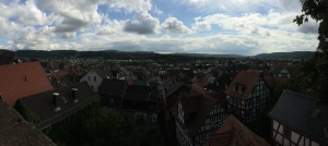 05/09 - A view from above of Marburg.