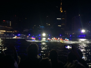 03/10 - Jet skis with the flags of each Bundesland.