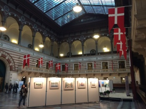 30/10 - Inside the Rathaus. Need anymore Danish flags?