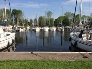 The harbour in Terkaple.