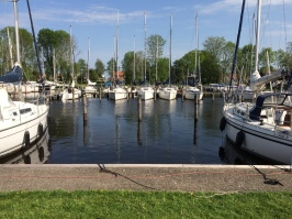 The harbour in Terkaple.