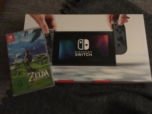 The Nintendo Switch is feminine according to the German language!