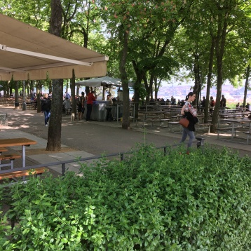 The Letná Beer Garden