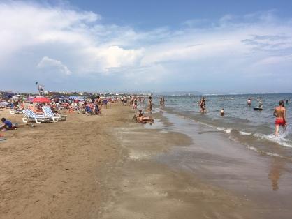 The city beach