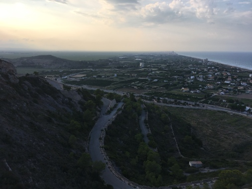 View from above of Cullera